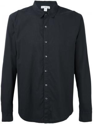 Классическая рубашка James Perse. Цвет: чёрный