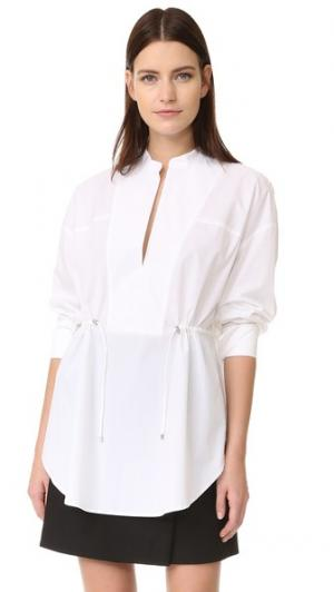Рубашка Rowe Acler. Цвет: белый