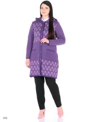 Легкое пальто, модель Марлен Dorothy's Нome. Цвет: сиреневый, темно-фиолетовый