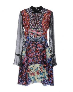 Короткое платье MARY KATRANTZOU. Цвет: фиолетовый
