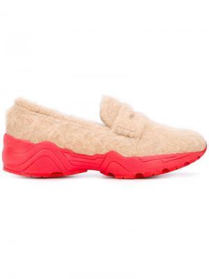 Bonnie loafers Suecomma. Цвет: телесный