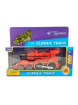 Поезд Азбука Тойс. Цвет: красный