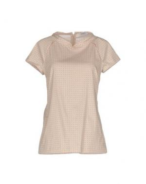 Блузка CALIBAN. Цвет: бежевый