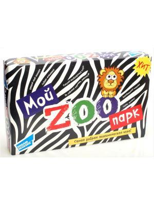 Игра детская настольная Мой Зоопарк. New DREAM MAKERS. Цвет: белый,черный
