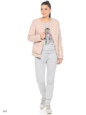 Куртка Grishko. Цвет: розовый