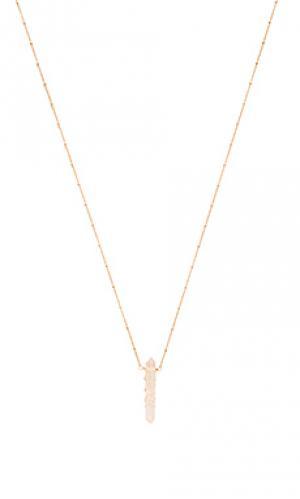 Ожерелье angela Mimi & Lu. Цвет: металлический золотой