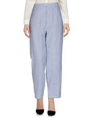 Повседневные брюки BAND OF OUTSIDERS. Цвет: синий