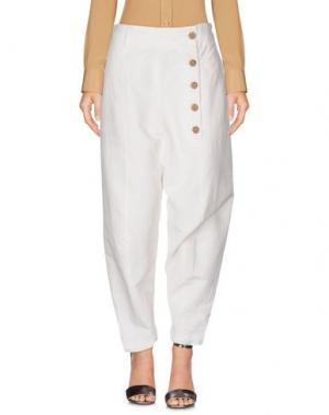 Повседневные брюки S.S.S.R. Venezia. Цвет: белый