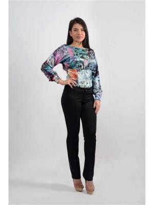 Блузка-боди FOR YOU. Цвет: серо-зеленый