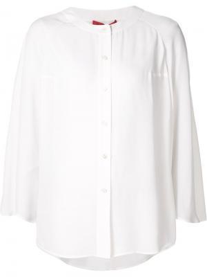 Блузка с расклешенными рукавами Tamara Mellon. Цвет: белый
