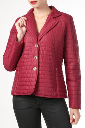 Куртка HDS. Цвет: красный