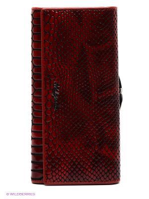 Кошелек Malgrado. Цвет: красный, черный