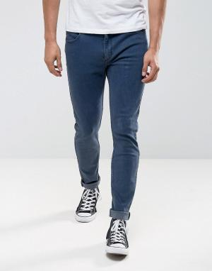 Rollas Узкие джинсы Thin Captain 692. Цвет: синий