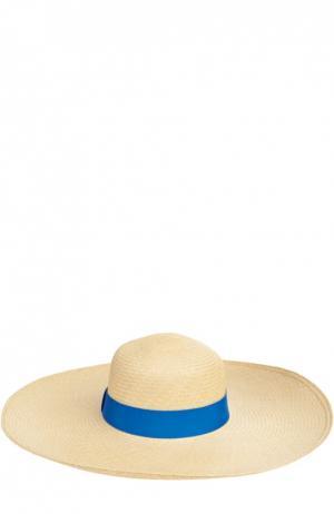 Шляпа пляжная Artesano. Цвет: синий