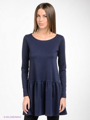 Платье Hammond. Цвет: темно-синий