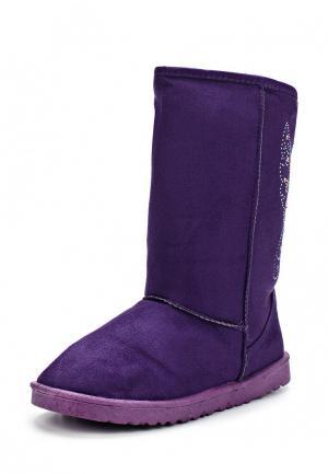 Угги Mon Ami. Цвет: фиолетовый