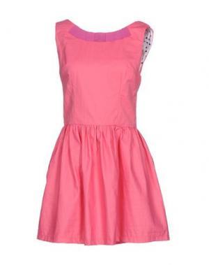 Короткое платье MACRÍ. Цвет: розовый