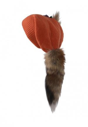 Шапка Lak Miss. Цвет: оранжевый