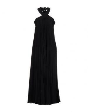 Длинное платье RAOUL. Цвет: черный
