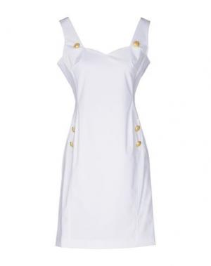 Короткое платье ANNA RACHELE. Цвет: белый