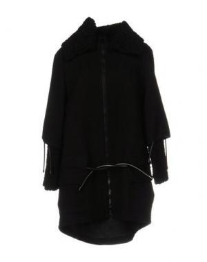 Пальто JO NO FUI. Цвет: черный
