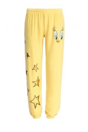 Трикотажные брюки SF-153395 Lauren Moshi. Цвет: желтый