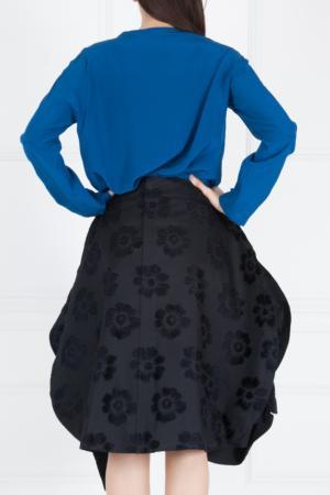 Юбка с вышивкой Comme des Garcons. Цвет: черный