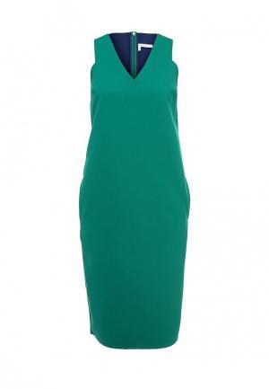 Платье Finery London. Цвет: зеленый