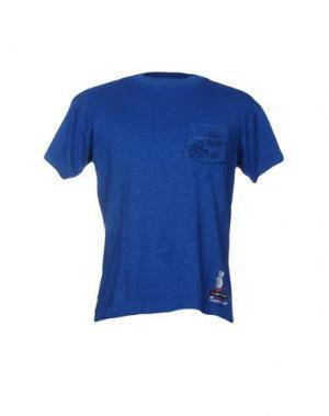 Футболка LEVIATHAN. Цвет: синий