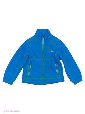 Куртка флисовая High Experience. Цвет: синий