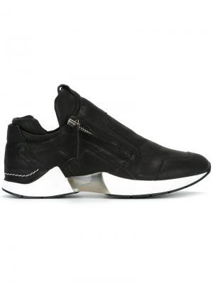 Кроссовки на молнии Cinzia Araia. Цвет: чёрный