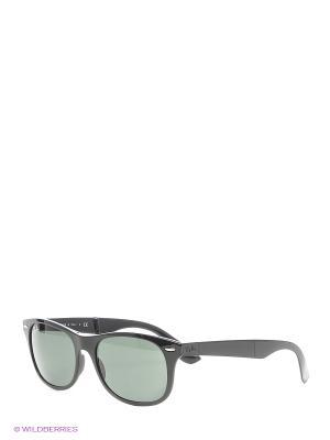 Солнцезащитные очки FOLDING Ray Ban. Цвет: черный