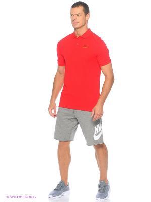 Футболка-поло M NSW POLO PQ MATCHP Nike. Цвет: красный