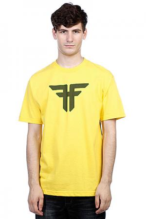 Футболка  Trademark Yellow/Surp Green Fallen. Цвет: желтый
