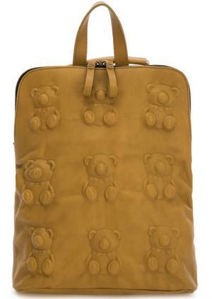 Сумка-рюкзак с одним отделом на молнии Io Pelle. Цвет: желтый
