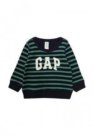 Свитшот Gap. Цвет: зеленый