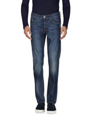 Джинсовые брюки FIRETRAP. Цвет: синий