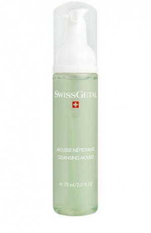 Мусс для очистки кожи Swissgetal. Цвет: бесцветный