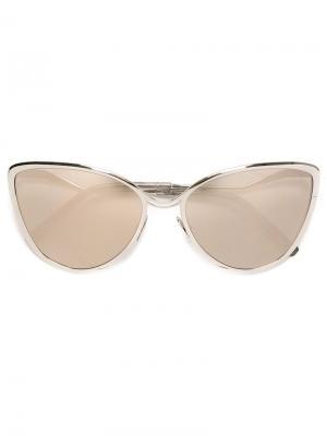 Солнцезащитные очки 1124 Cutler & Gross. Цвет: металлический