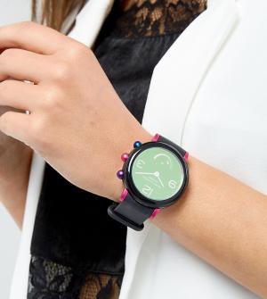 Marc Jacobs Черные смарт-часы MJT1003 эксклюзивно для ASOS. Цвет: черный