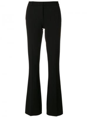 Slim-fit flared trousers Kiltie. Цвет: чёрный