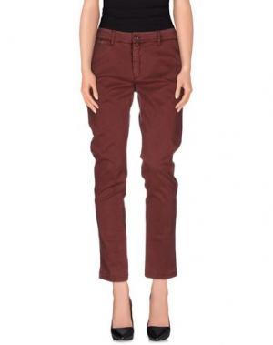 Повседневные брюки KUBERA 108. Цвет: красно-коричневый
