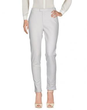 Повседневные брюки JUVIA. Цвет: светло-серый