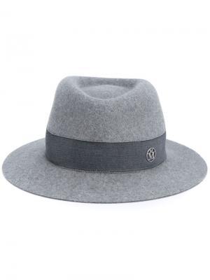 Шляпа Andre Maison Michel. Цвет: серый
