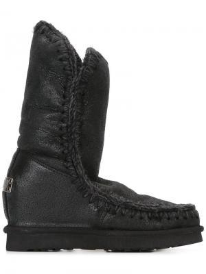 Ботинки Eskimo Tall Mou. Цвет: чёрный