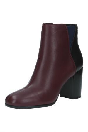 Ботинки Michele. Цвет: бордовый