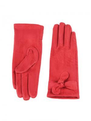 Перчатки Sabellino. Цвет: темно-красный