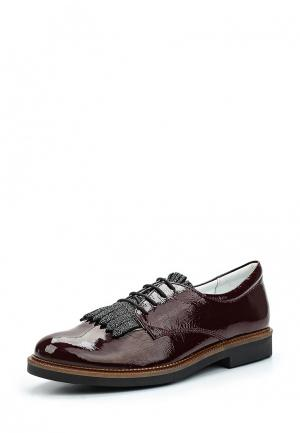 Ботинки Bartek. Цвет: бордовый