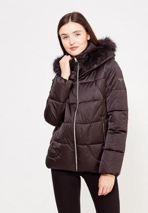 Куртка утепленная Grishko. Цвет: черный