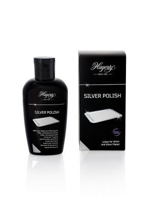 Полироль для серебра Silver Polish, 100 мл Hagerty. Цвет: черный